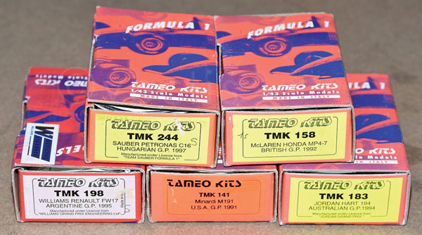 GRP inc Tamiya boxed kit No.TMK141 Minardi M191