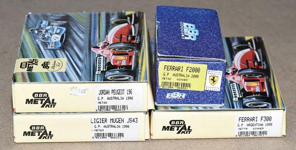 GRP inc BBR boxed kit 3 x Platinum Kit Sets