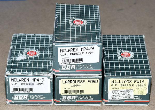 GRP inc BBR boxed kit McLaren MP4/9 G.P. Brasile