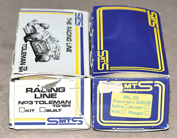 PAIR inc SNTS a Kit Toleman TG184, RL13 Ferrari