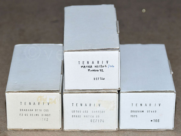 GRP inc Tenariv boxed Lotus 49B Siffert Brands