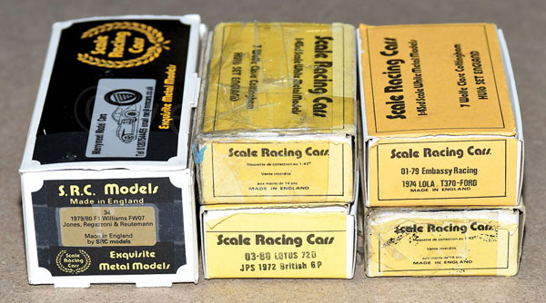 GRP inc Scale Racing Cars boxed F1