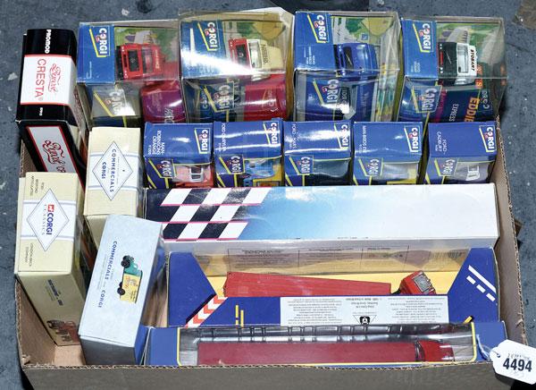 GRP inc Corgi boxed mainly Lorry No.91422 Sedan