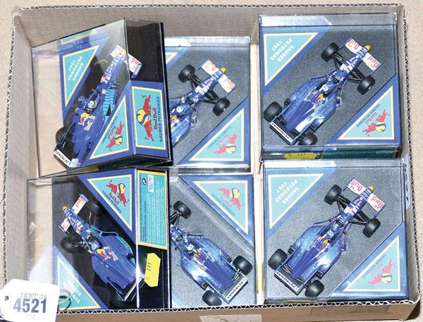 GRP inc Onyx boxed Sauber Petronas 1997