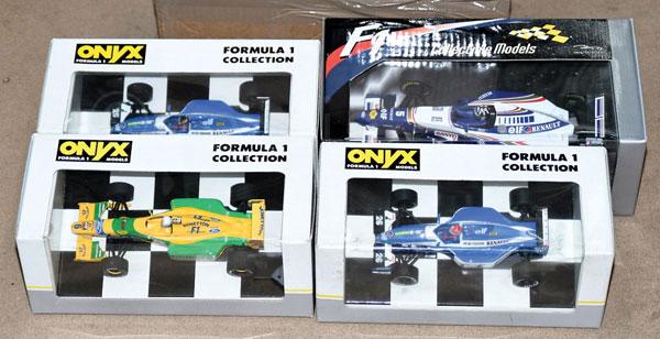 GRP inc Onyx boxed No.5002 Ligier Renault JS37