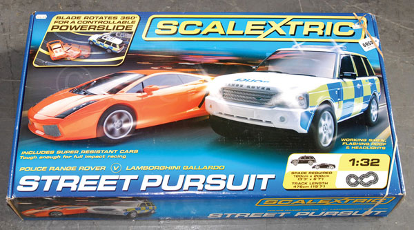 Scalextric Street Pursuit in 1/32nd scale Police