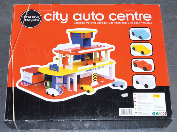 UMU Toys Play Sets City Auto Centre, Parking