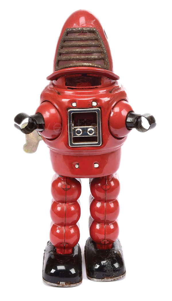 KO Toys (Yoshiya Japan) Planet Robot - red