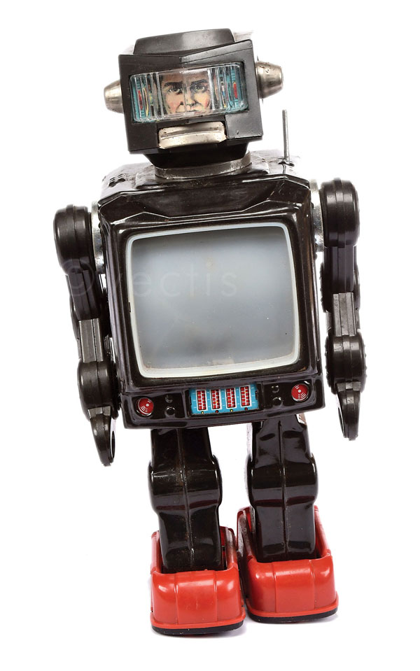 Television Spaceman Robot by SH Toys of Japan