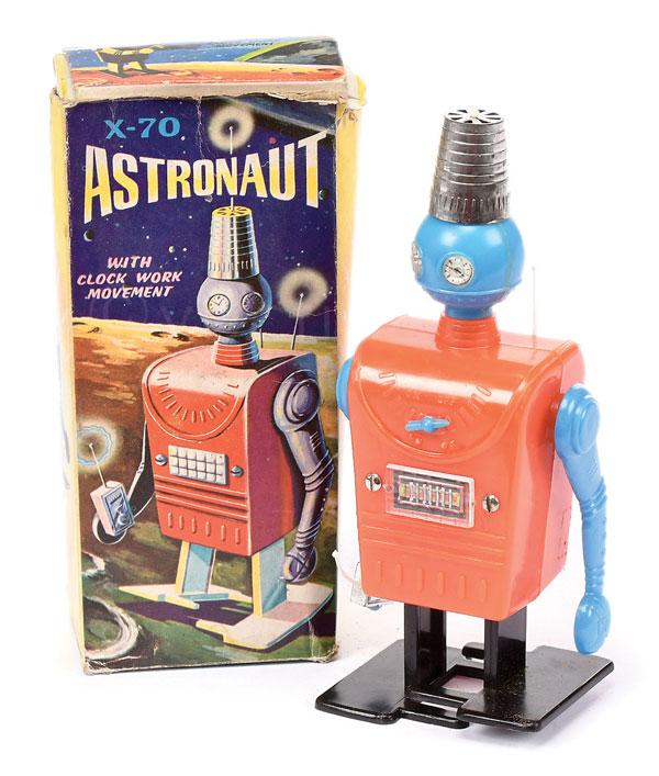 Hong Kong plastic Astronaut Robot X-70