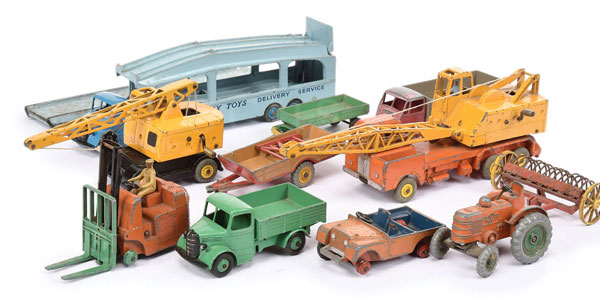 GRP inc Dinky Commercials and Farm Vehicles