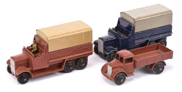 GRP inc Dinky Post-war Lorries - (1) Motor Truck