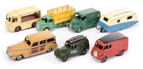 GRP inc Dinky mostly small Commercials - Express