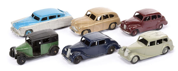 GRP inc Dinky Post-war Cars - Standard Vanguard