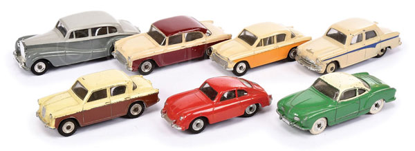 GRP inc Dinky Cars with windows - (1) Rolls