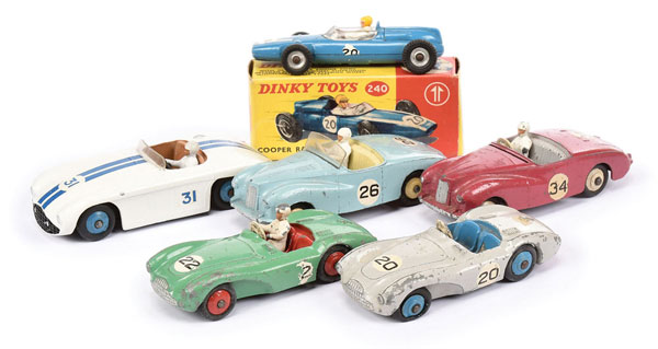 GRP inc Dinky Sports and Racing Cars