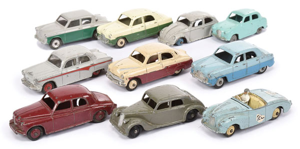 GRP inc Dinky 0's and 60's Cars - Vauxhall