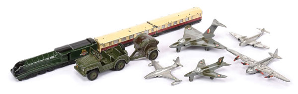 GRP inc Dinky Aircraft, Military and a Steam