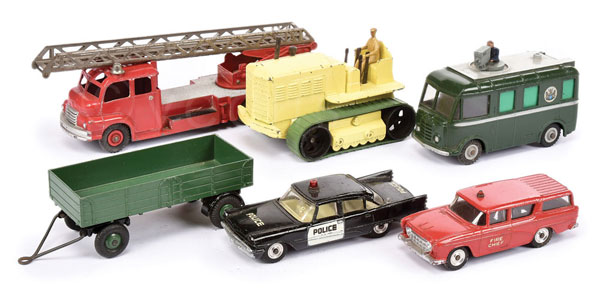 GRP inc Dinky Emergency Vehicles and other
