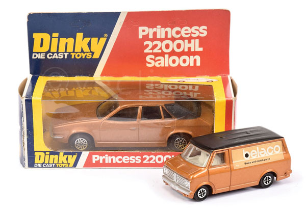PAIR inc Dinky a scarce Bedford Van in