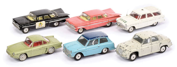 GRP inc Corgi Cars - Austin A40 - two-tone blue