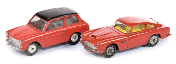 PAIR inc Corgi rare issue Cars (1) Aston Martin