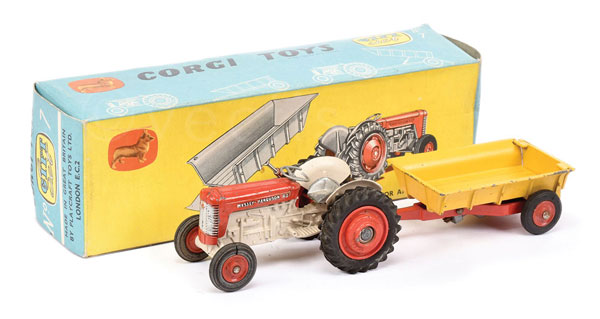 Corgi Toys Gift Set No.7 - set comprises Massey