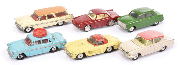 GRP inc Corgi assorted Cars - Plymouth Suburban