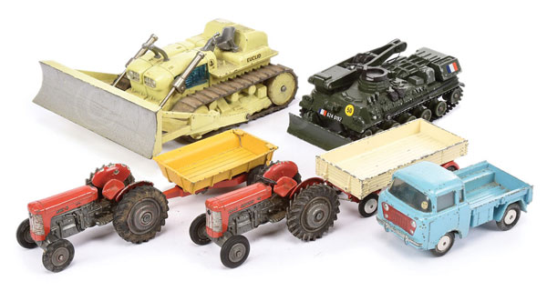 GRP inc Corgi Tractors and other Vehicles