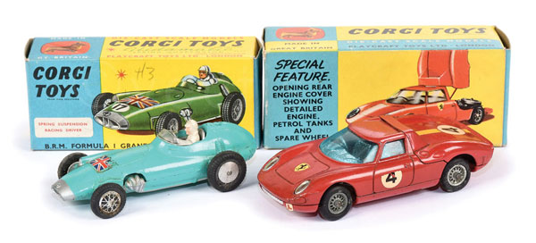 PAIR inc Corgi Racing Cars (1) No.314 Ferrari