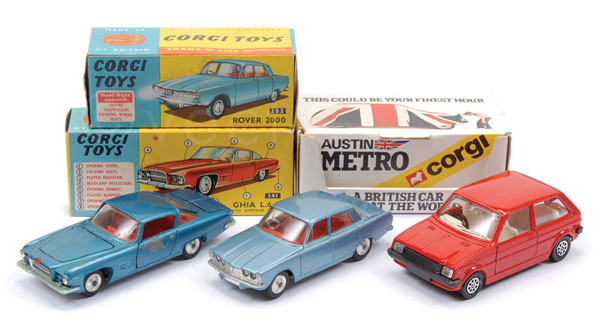 GRP inc Corgi Cars (1) No.241 Ghia L6.4