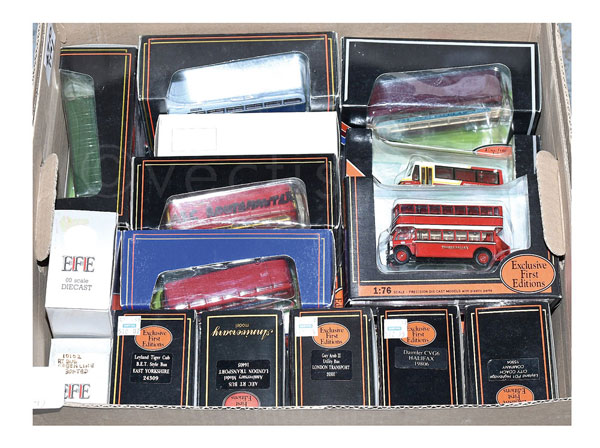 GRP inc EFE /76th scale Bus models - Halifax