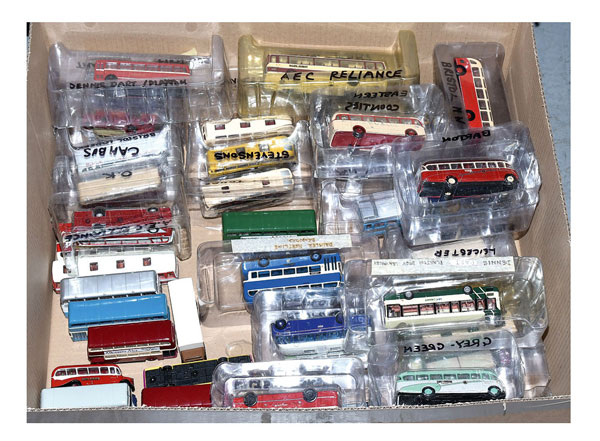 GRP inc mostly EFE 1/76th scale Buses, unboxed