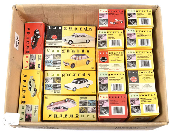 GRP inc Vanguards /43rd scale Car models - Ford