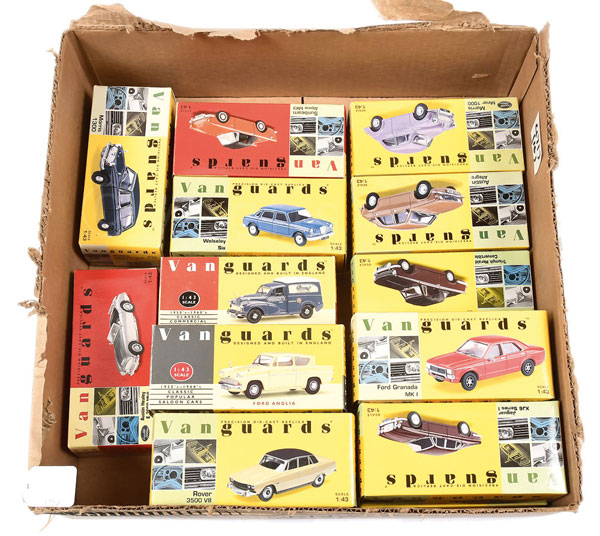 GRP inc Vanguards /43rd scale model Cars