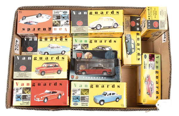 GRP inc Vanguards /43rd scale Car models