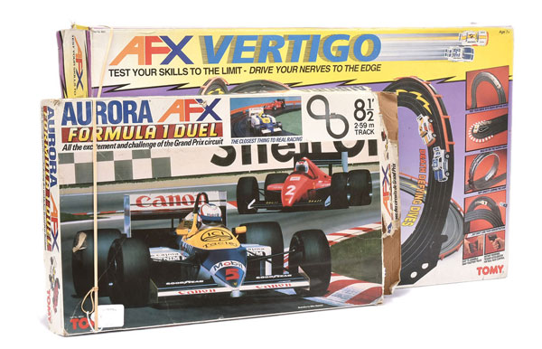 PAIR inc Tomy AFX Motor Racing Sets (1) Aurora