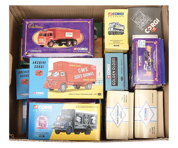 GRP inc Corgi Classics /50th scale Lorries