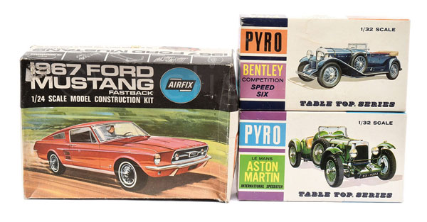 GRP inc Airfix 1/24th scale 1967 Ford Mustang