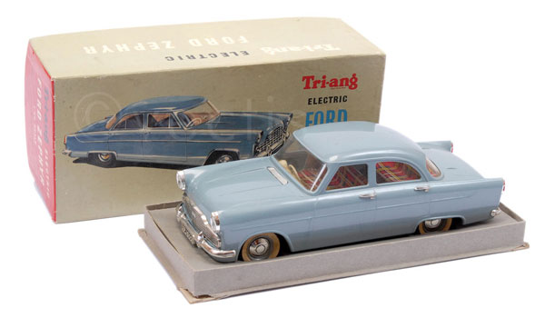 Triang Minic 1/20th scale electric Ford Zephyr