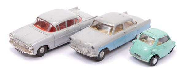 GRP inc Spot-On unboxed Cars (1) Ford Zodiac