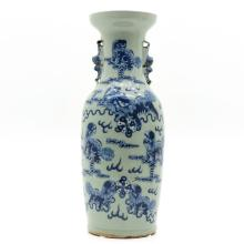 China Porcelain Celadon Vase