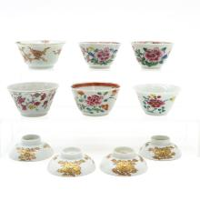 Lot of China Porcelain Cups