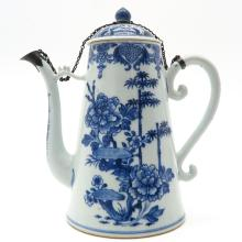 18th Century China Porcelain Coffee Can