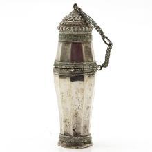 Indonesian Silver Sirih Box