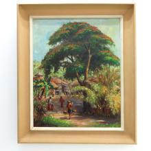 Signed H. Reitberg Indonesian Painting