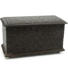 18th Century Carved Trunk