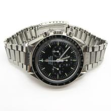 Mens Stainless Omega Speedmaster Watch