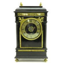 19th Century Signed Sascier Maria Table Clock