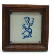17th Century Dutch Tile